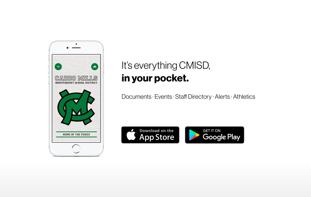 Caddo Mills ISD's New App